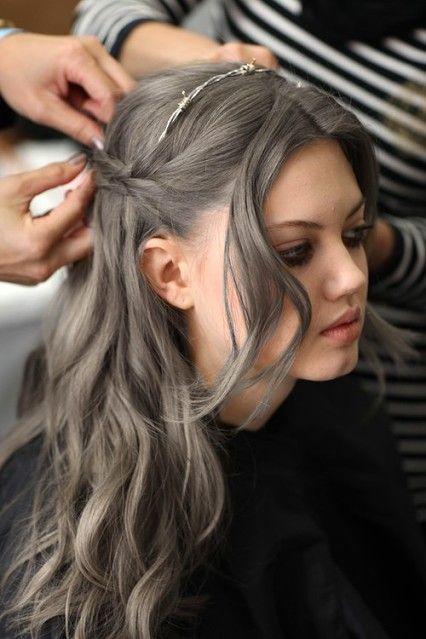 Summer 2015 Hair Trends : Gray Hair